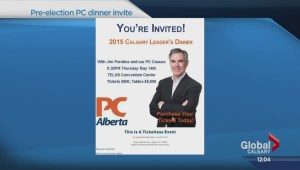 Prentice to attend PC leadership dinner